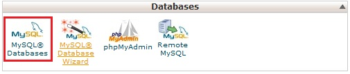 Create MySQL Database in CPanel - Step 1