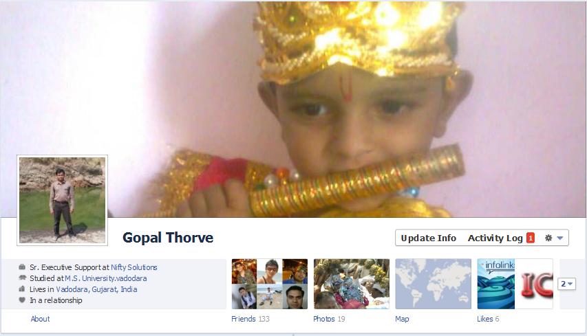 Facebook timeline feature :: My Facebook timeline profile