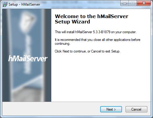 Install hMailServer Step - 1