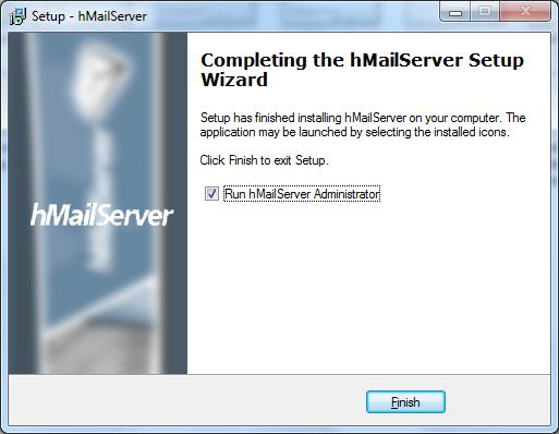 Install hMailServer Step - 10