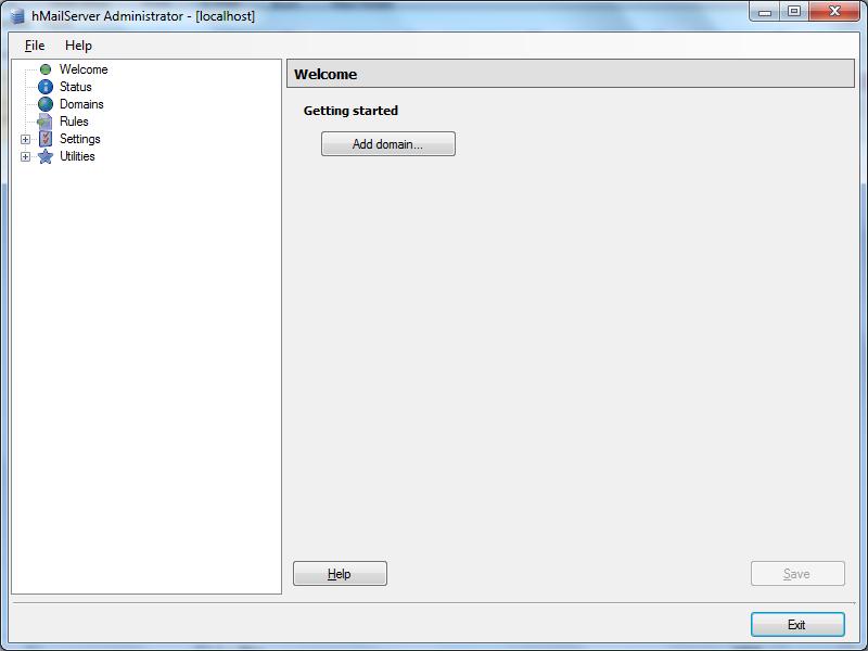 Install hMailServer Step - 12