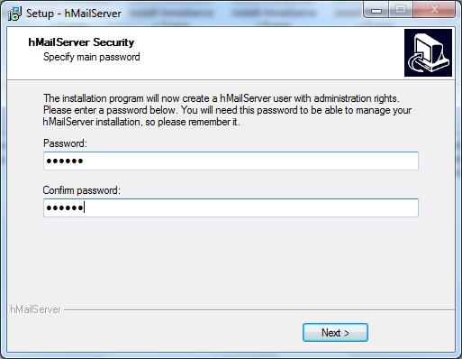 Install hMailServer Step - 9