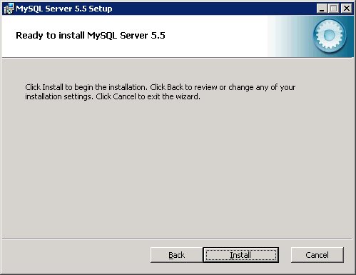 Install MySQL on Windows - 4