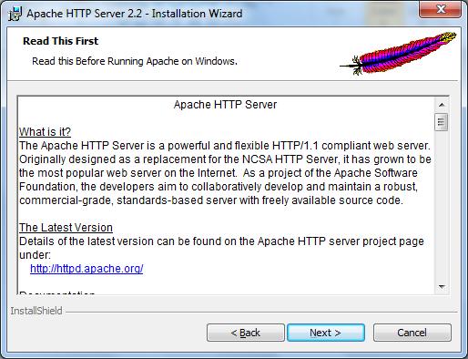 Installing Apache Web Server on Windows - 3
