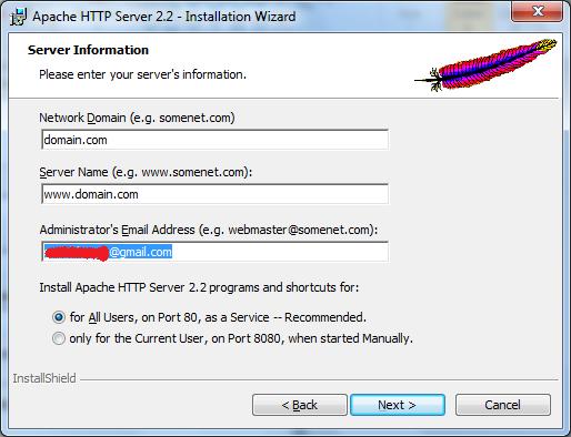 Installing Apache Web Server on Windows - 4