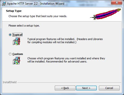 Installing Apache Web Server on Windows - 5