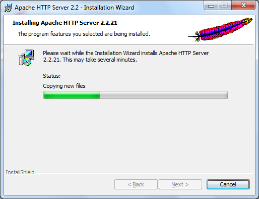Installing Apache Web Server on Windows - 8