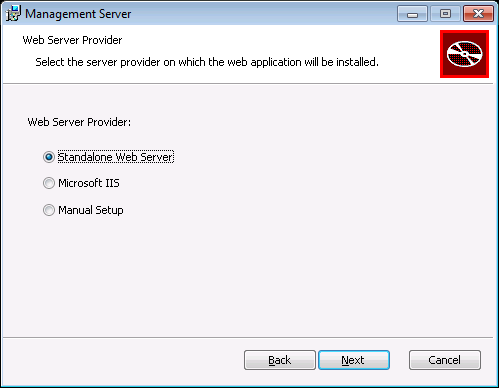 NovaBackup CMC :: Web Server Provider