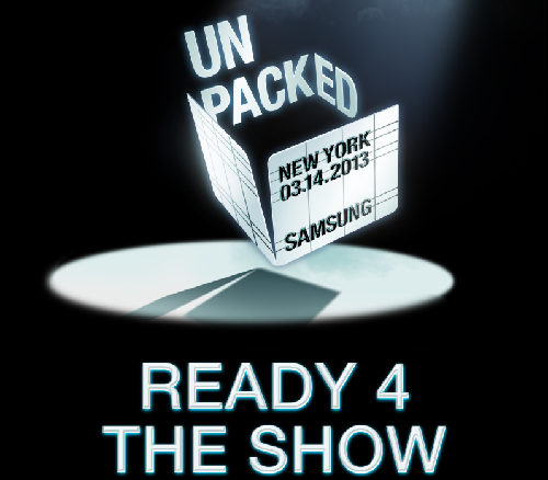 Samsung Galaxy S4 - Unpacked Event